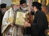 His Beatitude offering an icon to the Head of the H. Church Fr. Ilias
