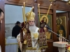 His Beatitude the Patriarch of Jerusalem Theophilos at the Divine Liturgy