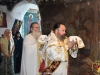 At the Divine Liturgy inside the carved rock
