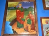The icon of Prophet Elisha