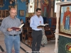 At the Apostolic reading
