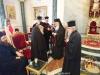His Beatitude awards the Most Rev. Metropolitan Joel of Edessa
