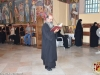 The Hegoumen and Caretaker of the H. Monastery Fr. Chariton at the Divine Liturgy