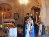 6. During the Divine Liturgy at the newly restored Church led by His Beatitude