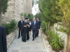 Mr. Kvirikashvili guided by Archimandrite Klavdios