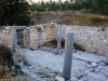 Inside the remains of the Greek Orthodox Church