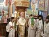 The Most Rev. Archbishop Demetrios of Lydda & Entourage