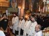 The Most Rev. Archbishop of Lydda & Entourage at Vespers