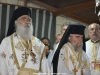 His Beatitude's co-celebrants, Metropolitan of Bozra and Archbishop of Constantina