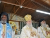 His Beatitude and the Metropolitans of Bozra and Mouanza