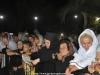 Nuns and pilgrims at the Holy Vigil