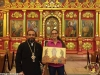 Archimandrite Galaction at the H. Monastery of the Transfiguration of the Saviour in Ramalla