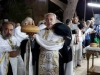 Archimandrite Kavdios at the blessing of bread