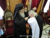 His Beatitude offering blessings from Jerusalem to Metropolitan Hilarion