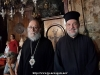 His Eminence Archbishop of Avela and the Master of Ceremonies Archimandrite Bartholomew