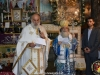 His Beatitude at His Sermon in Greek and Arabic