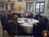 During the lunch hosted by Archimandrite Ioustinos