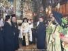 The Hegoumen of Gethsemane Archbishop Dorotheos carrying Theotokos' icon