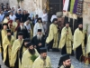 The Procession of the Sacred icon heading for Praetorion