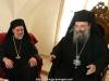 Metropolitan Chrysostomos with Archimandrite Bartholomew at the hegoumeneion