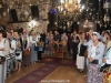 The noble congregation at the Divine Liturgy