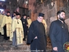 The descend of the Episcopal Entourage at the Theotokos' Tomb