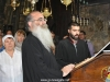 The Choir leader Archimandrite Aristovoulos and the left choir singer Mr. George Alvanos