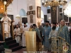 His Eminence Theophylactos and entourage at the Divine Liturgy