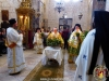 His Beatitude at the service of the Exaltation of the Sacred Cross