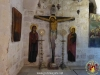 Icon of the Crucified Lord inside Lot's crypt