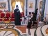 Archimandrite Melchisedec addressing His Beatitude