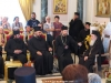 The leaders of the pilgrims' groups at the Great Reception Hall