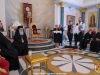 Young people from Crete sing for His Beatitude
