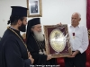 His Beatitude with Fr. Simeon and a member of the Community