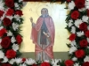 The icon of St. Isaac the Syrian