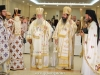 Their Eminences, Metropolitan Benedict of Philadelphia and Archbishop Makarios of Qatar with the Priests