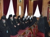 The Russian Ecclesiastical Mission in Jerusalem visits Patriarch Theophilos