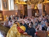 His Beatitude our Father and Patriarch of Jerusalem Theophilos at the Holy Communion