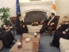 The meeting of His Beatitude with the President of the Democracy of Cyprus Mr. Anastasiades
