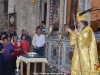 The Patriarch of Jerusalem leads the Divine Liturgy at St. George in Lydda