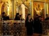 His Beatitude and entourage at the Catholikon