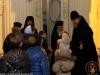 His Beatitude blessing parish members