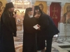 Mr. Igor Altouskin, a donor of the Patriarchate, receiving His Beatitude's blessing
