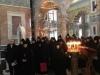 The nuns of the Monastery of St. Alexander Nevsky, singing
