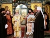 His Beatitude offering an icon of the Nativity to the Metropolitan Cyril of Ekaterinburg