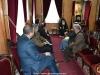 The Mayor and the members of Ubeidiya meeting His Beatitude
