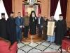 His Beatitude, the Mayor, the Metropolitan of Kapitolias and the Archbishops of Hierapolis and Qatar