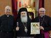 His Beatitude, M.E. Msgn Leopoldo Girelli and Fr. Fernando Tumuya