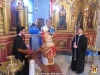 The M. Rev. Metropolitan Joachim of Helenoupolis officiating the Divine Liturgy at the Monastery of St. Catherine