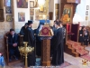 Archimandrite Eusevios and the choir with the Patriarchal School students